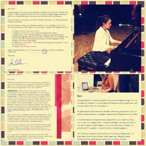 美音联盟2016年音乐学院录取信_美音联盟美国音乐留学培训